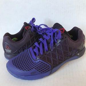 REEBOK Purple CrossFit Nano 4 athletic shoes